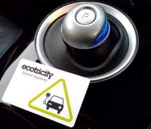 Ecotricity card, your key to the Electric Highway