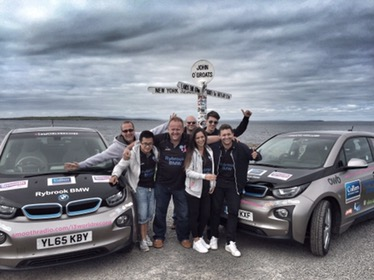John O'Groats at the end of #i3worldrecord